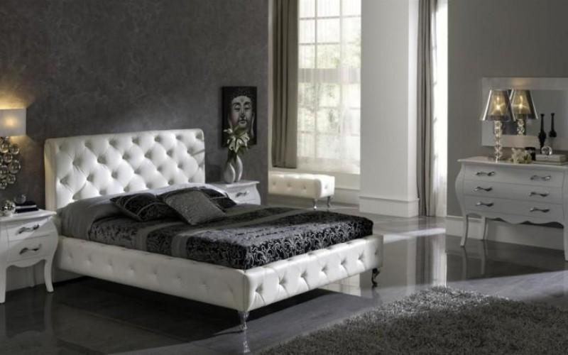 بالصور غرف نوم باللون الاسود والفضي , اللون المفضل في غرف النوم 11416 8
