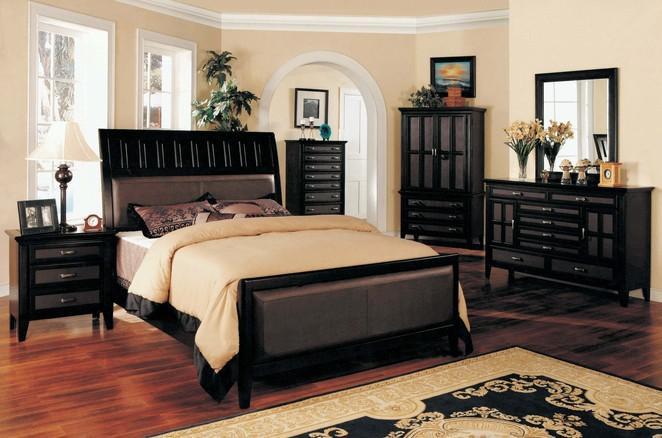 بالصور غرف نوم باللون الاسود والفضي , اللون المفضل في غرف النوم 11416 9