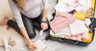 صورة تحضير شنطة الولادة , اغراض الام والجنين معا