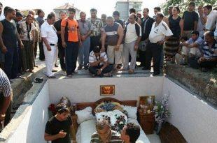 صور صور قبر صباح , الشحرورة وجنازتها الفريدة