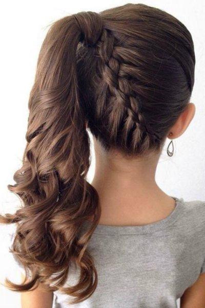 صور ضفائر للشعر الطويل , قصات تميز الشعر الطويل