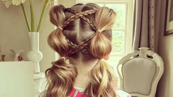 بالصور تسريحات شعر للبنات الاطفال , شياكة طفلتك امانة 11643 5