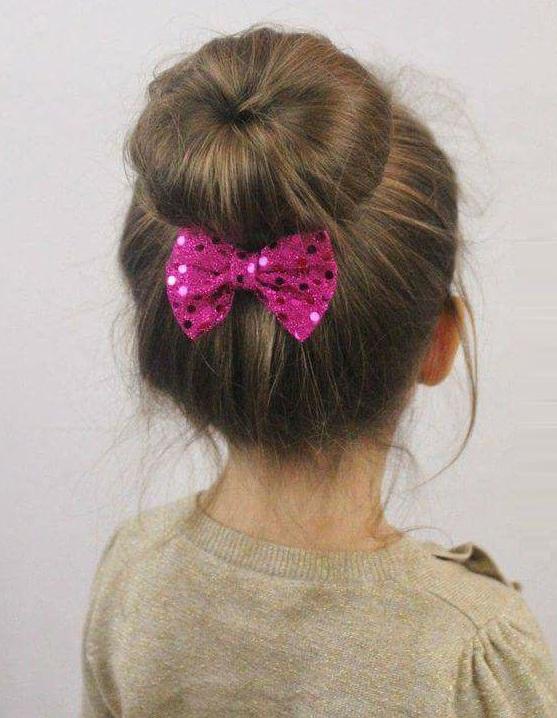 بالصور تسريحات شعر للبنات الاطفال , شياكة طفلتك امانة 11643 6