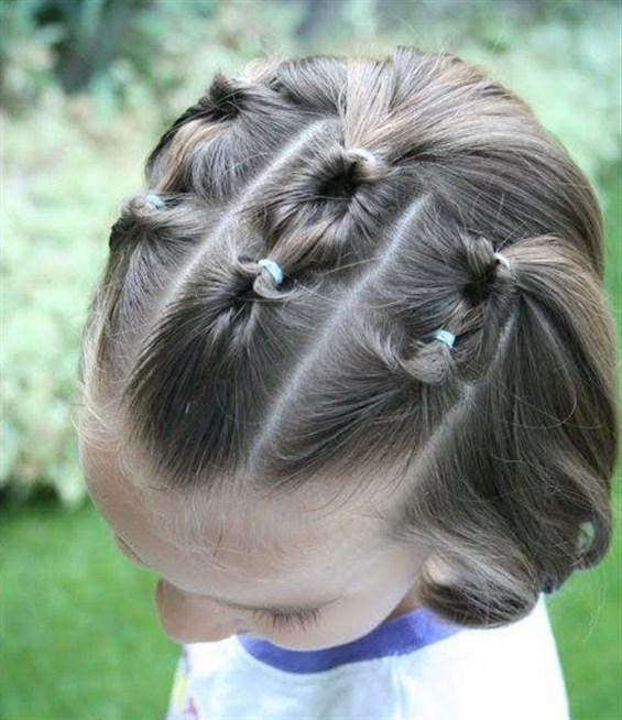 بالصور تسريحات شعر للبنات الاطفال , شياكة طفلتك امانة 11643 7