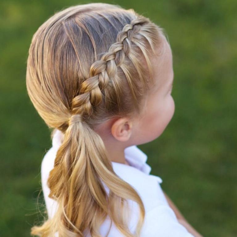 بالصور تسريحات شعر للبنات الاطفال , شياكة طفلتك امانة 11643 9