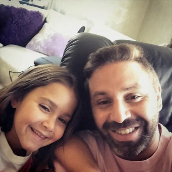 صورة بنات حازم امام , الثعلب الصغير هو ابو البنات