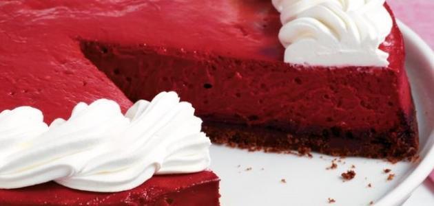 صور كيكة ريد فيلفت , الكيكة الحمراء موضة العصر