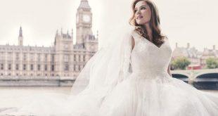 بالصور فساتين زفاف مقاسات كبيرة , كوني عروسة مميزة 11787 14 310x165