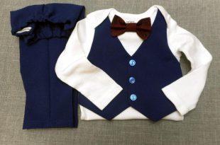 صور ملابس اطفال حديثي الولادة بالصور , الطفل بملابسه الجذابة