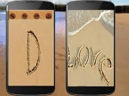 صور كتابة اسمك على الرمل , الرملة والتكنولوجية مع اسمك