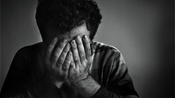 صورة صورة انسان حزين , الحزن في عين الانسان