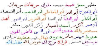 صور اسماء شباب عربية , اختيار اسم المولود
