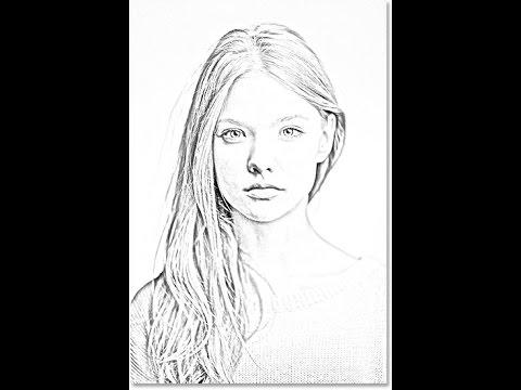 صور جعل صورتك مرسومة , ارسم صورتك باسهل طريقة