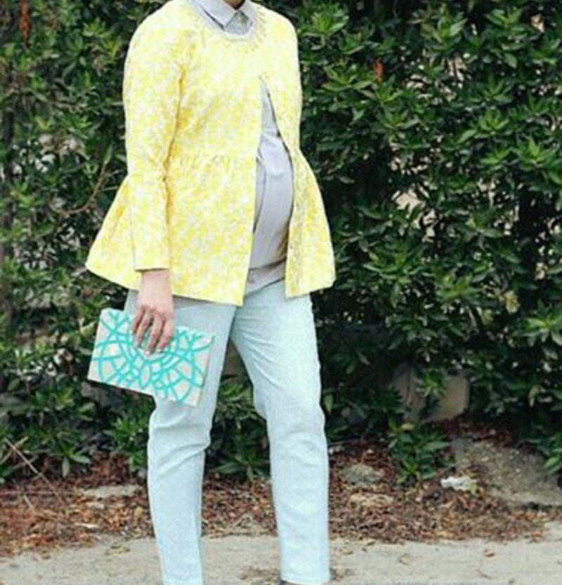صورة لبس حوامل للمحجبات , لبس الحوامل المتاح في الاسواق