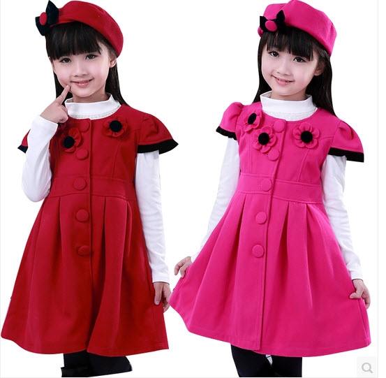 صورة فساتين بنات شتوية , الشتاء وفساتينه الجذابة