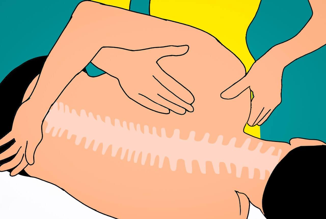 صورة الم في العصعص , الالتهابات في العظام