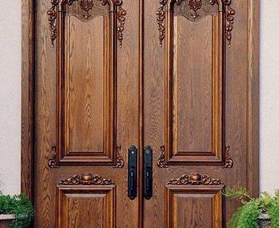 صورة اجمل الابواب الخشبية , الابواب الخشب من القديم الي الان