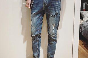 صور بنطلون جينز رجالي 2019 , صور لاحدث بنطلونات جينز رجالي