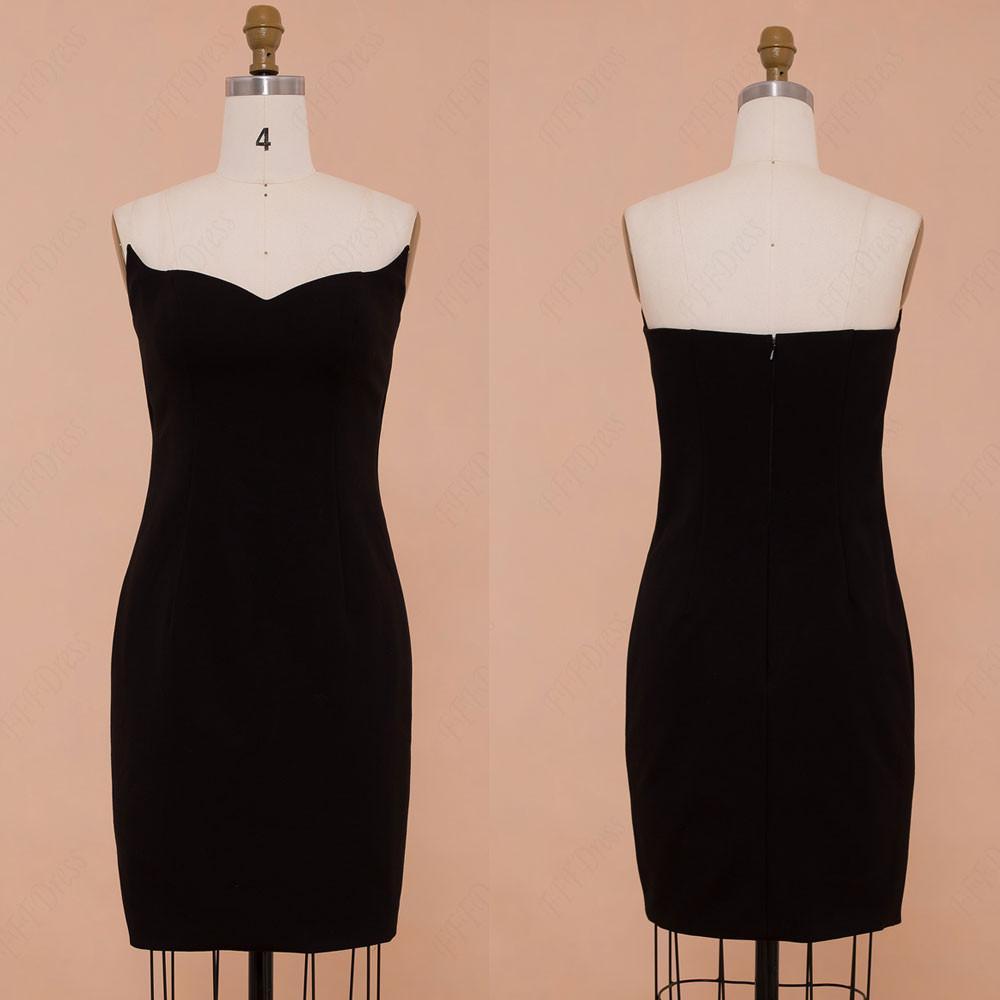 صورة فستان قصير اسود , احدث الفساتين السوداء القصيرة