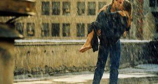 صورة احضان تحت المطر , احضان رومانسية جدا