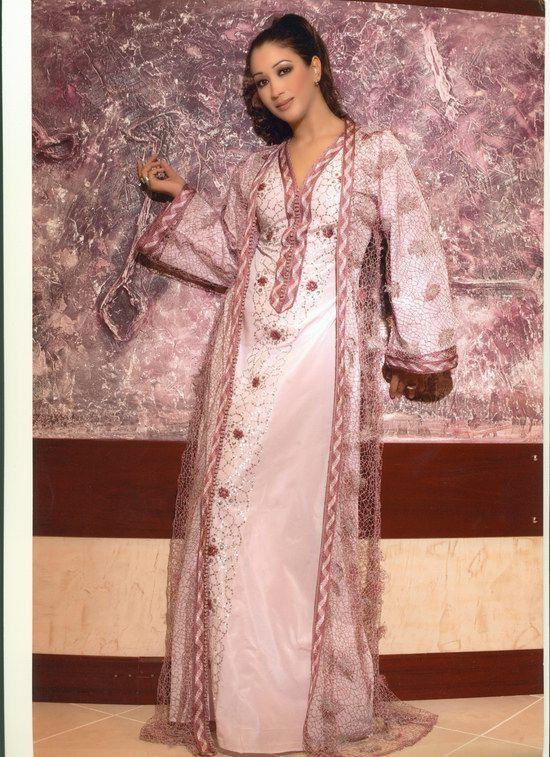 صورة عبايات مغربية مطرزة , اشيك العبايات و اجملها