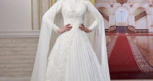 صورة اجمل فساتين زفاف للمحجبات , ارقي موديلات فساتين زفاف للمحجبات