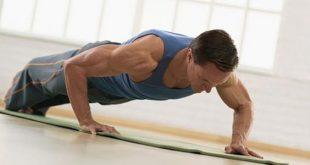 صورة تمارين بناء العضلات في المنزل ,