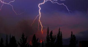 صورة اسباب حرائق الغابات , العواصف النارية و خطورتها