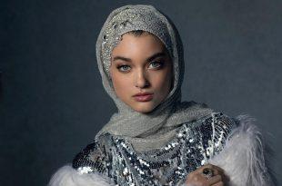 صورة لفات حجاب سواريه , احدث لفات حجاب سواريه