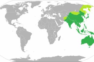 صورة دول قارة اسيا , اسماء دول القارة شمال وجنوب وشرق وغرب