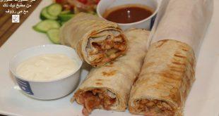 صورة طريقة عمل شاورما الفراخ السورى , اطعم شاورما فراخ سوري ممكن تاكلها في حياتك