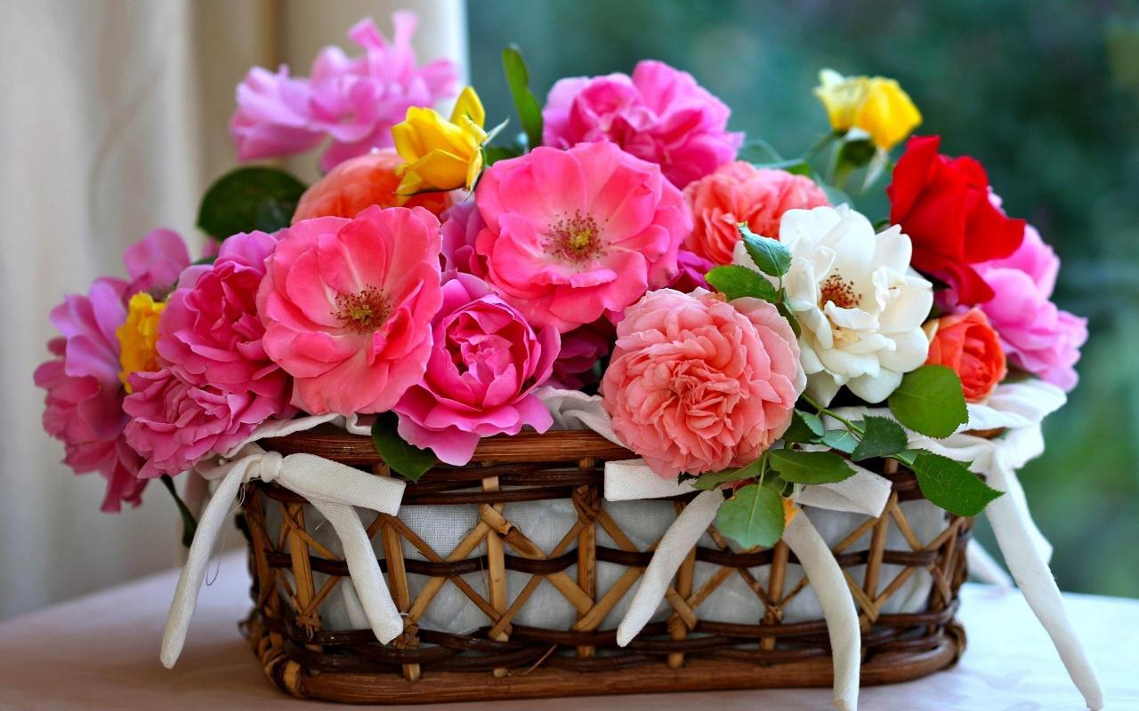 صورة باقات زهور , اجمل الورود تهادي بيها حبابيك 6309 4