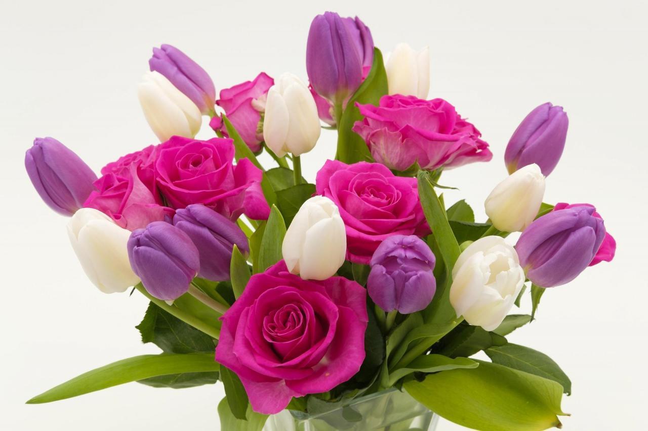 صورة باقات زهور , اجمل الورود تهادي بيها حبابيك 6309 7