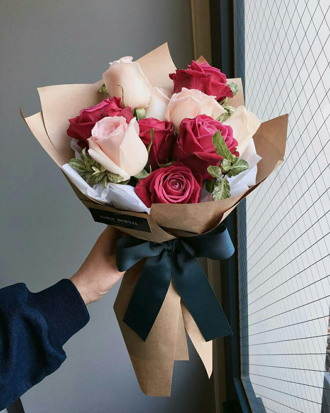 صورة باقات زهور , اجمل الورود تهادي بيها حبابيك 6309