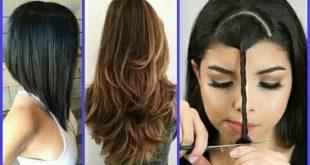 صورة كيفية قص الشعر , طرق بسيطة لقص الشعر بنفسك