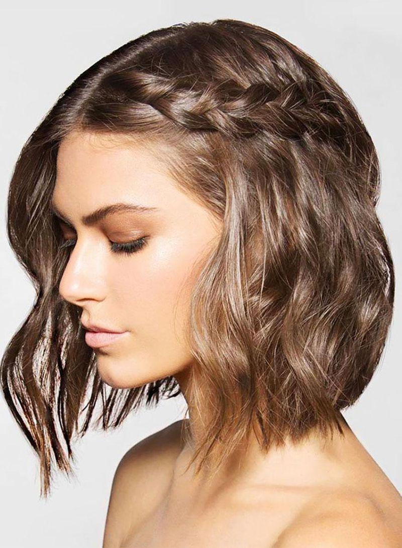 صورة احلي التسريحات للشعر القصير , تسريحات جذابة اوى لو شعرك قصير