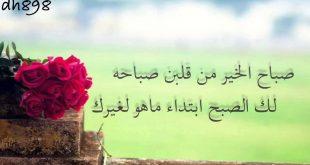 صورة حبيبي صباح الخير كلمات , اجمل كلام فى الصباح للاحباب