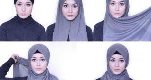 لفات حجاب جديدة , لفات حجاب خليجية تجنن 🤫