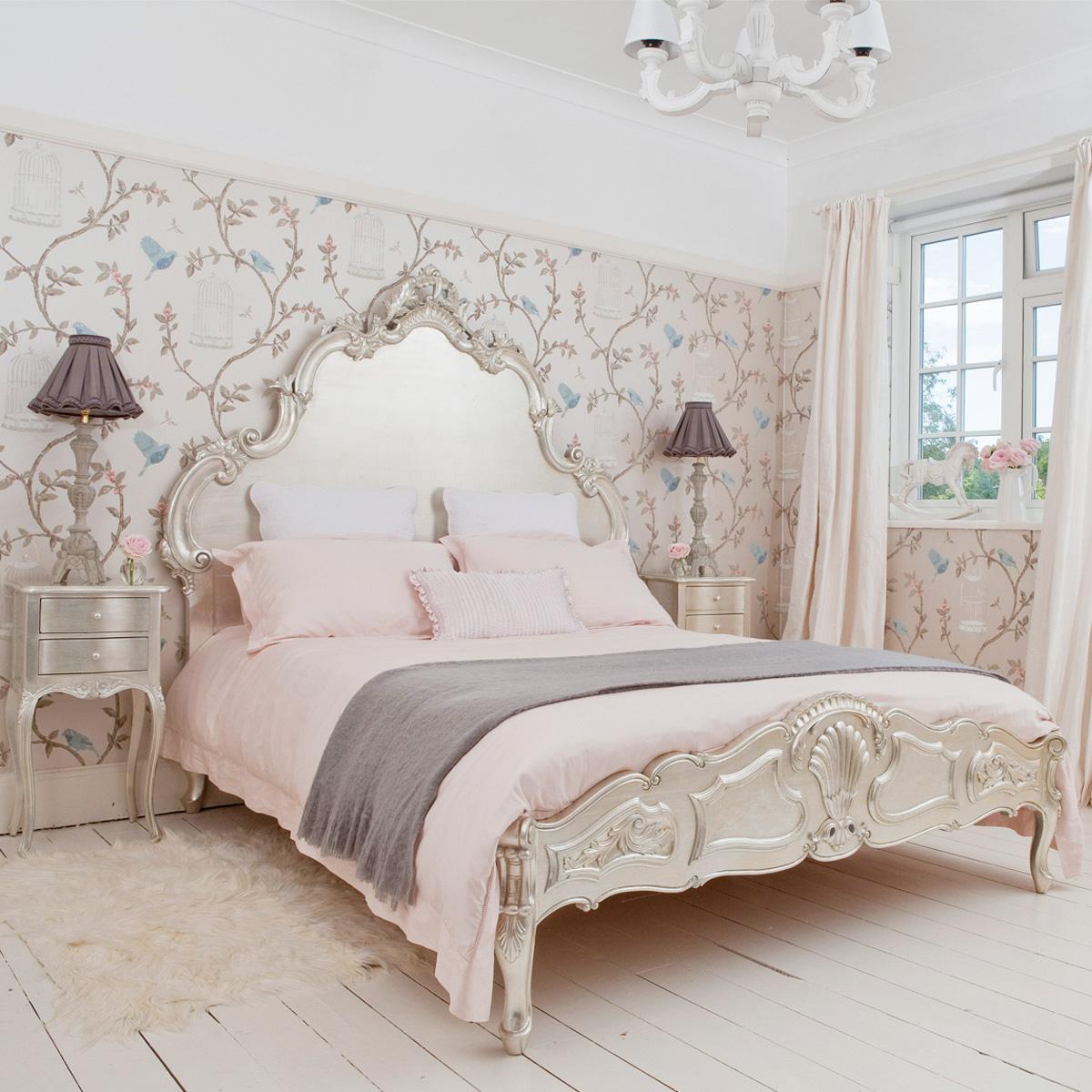 صورة ورق جدران غرف نوم , جملي غرفة نومك باجمد ورق حائط 🤫 6392 1