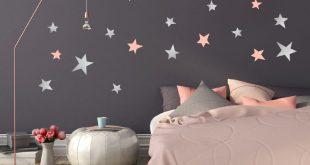 صورة ورق جدران غرف نوم , جملي غرفة نومك باجمد ورق حائط 🤫