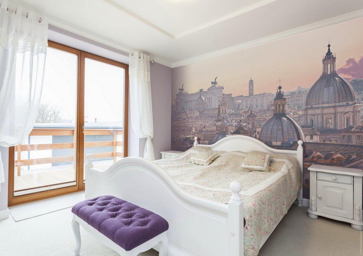 صورة ورق جدران غرف نوم , جملي غرفة نومك باجمد ورق حائط 🤫 6392 5
