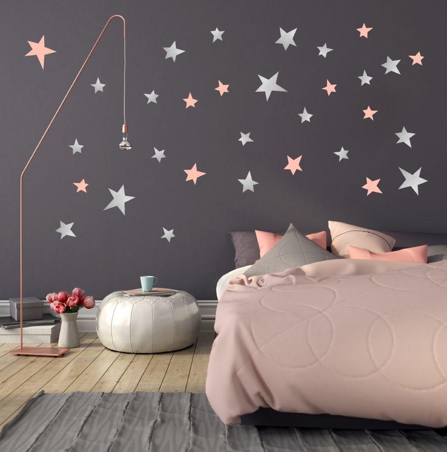 صورة ورق جدران غرف نوم , جملي غرفة نومك باجمد ورق حائط 🤫 6392