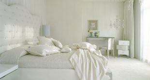 صورة غرف نوم بيضاء , اللون الابيض فى غرفة النوم لازم تشوفوا صور عن جماله