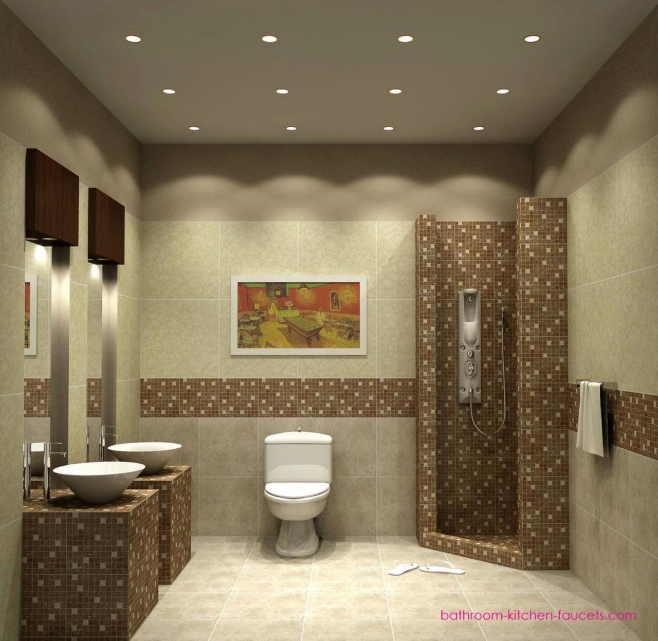 صورة ديكور حمامات منازل ,حمامات منزل شيك وروعة 3362 3
