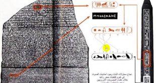 صورة فك رموز حجر رشيد , رموز حجر رشيد المصرية التى تم فكها