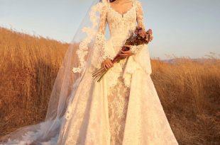 صورة واااو بجد ادخلوا شوفوا أجمل الفساتين لمصمم زهير, فساتين زفاف زهير مراد 2019